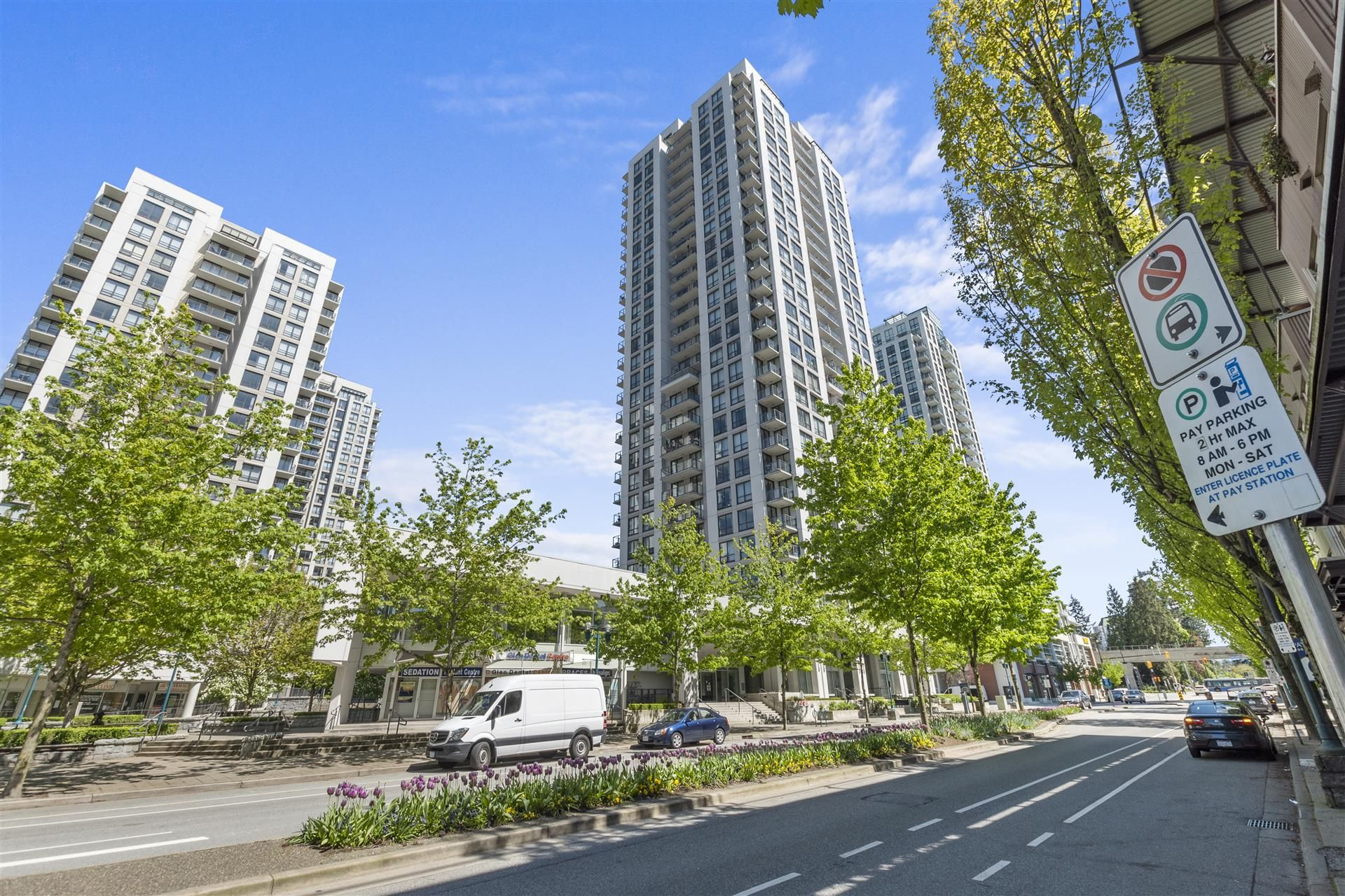 Main Photo: 2703 2979 Glen Drive in Coquitlam: North Coquitlam Condo for lease