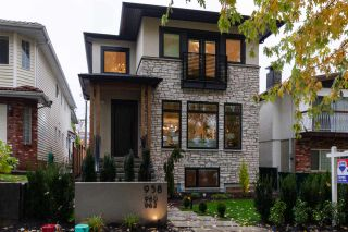 Photo 1: 958 E 38TH AVENUE in Vancouver: Fraser VE House for sale (Vancouver East)  : MLS®# R2414390