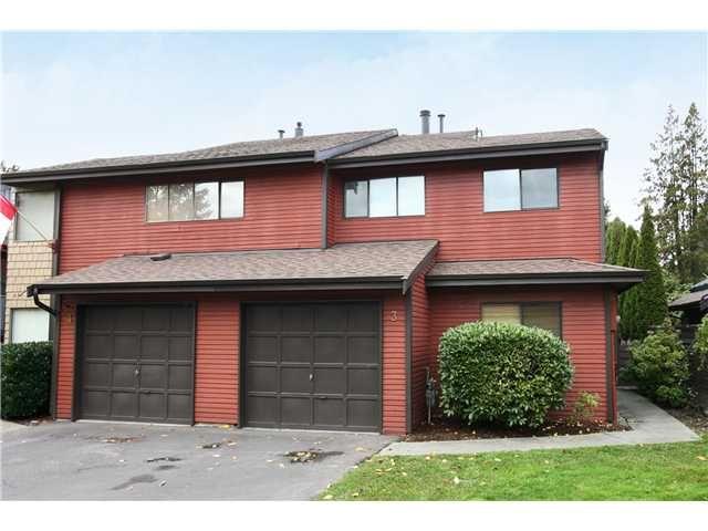 "Main Photo: 3 21550 CHERRINGTON Avenue in Maple Ridge: West Central 1/2 Duplex for sale in ""MAPLE RIDGE ESTATES"" : MLS®# V890073"