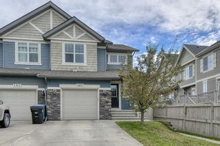 Main Photo: 141 Panatella Way NW in Calgary: Panorama Hills Semi Detached for sale : MLS®# A1151423