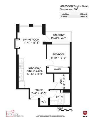 """Photo 20: 1205 550 TAYLOR Street in Vancouver: Downtown VW Condo for sale in """"The Taylor"""" (Vancouver West)  : MLS®# R2093056"""