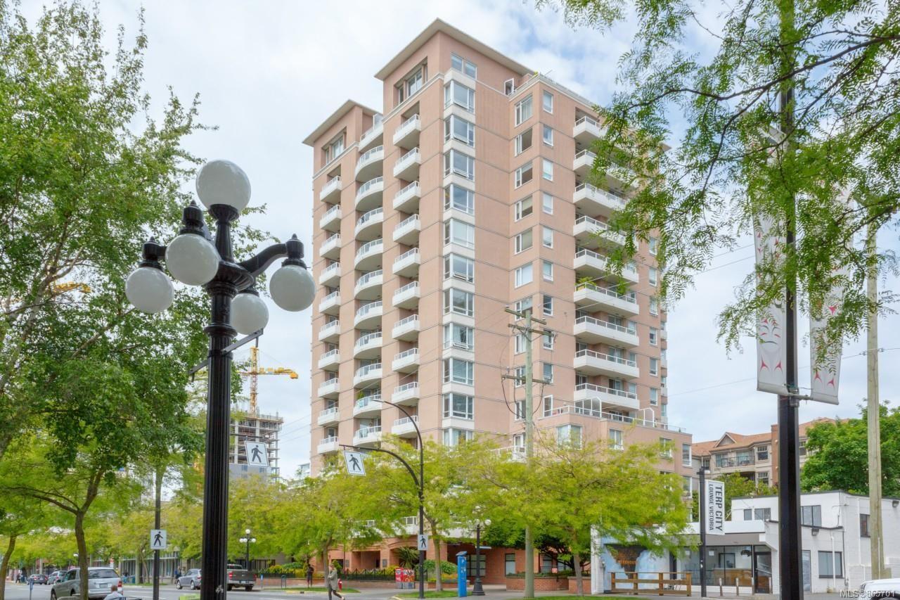 Main Photo: 1109 930 Yates St in : Vi Downtown Condo for sale (Victoria)  : MLS®# 865701