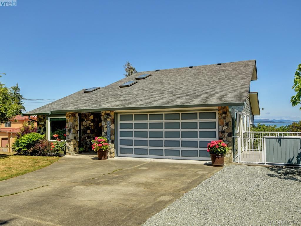 Main Photo: 8629 Bourne Terr in NORTH SAANICH: NS Dean Park House for sale (North Saanich)  : MLS®# 823945