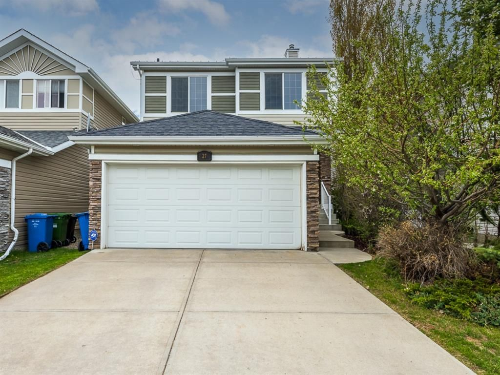 Main Photo: 27 Cougar Plateau Way SW in Calgary: Cougar Ridge Detached for sale : MLS®# A1113604