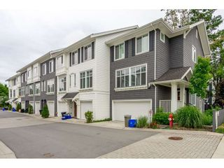 """Photo 1: 16 2550 156 Street in Surrey: King George Corridor Townhouse for sale in """"Paxton"""" (South Surrey White Rock)  : MLS®# R2385425"""