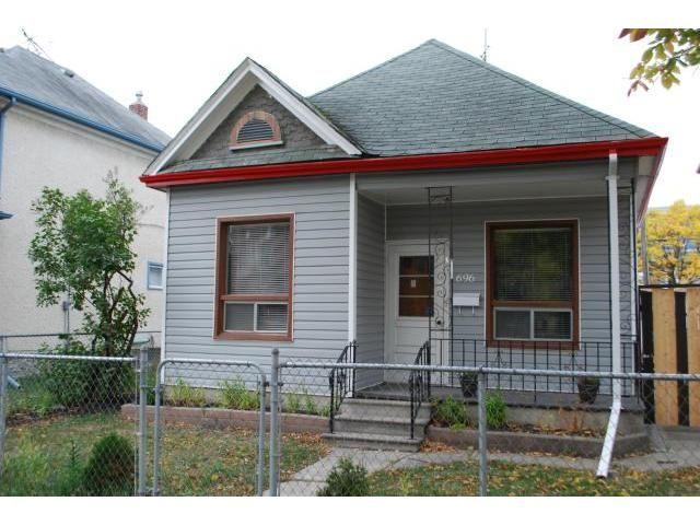 Main Photo: 696 Maryland Street in WINNIPEG: West End / Wolseley Residential for sale (West Winnipeg)  : MLS®# 1120646