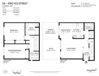"Photo 31: 58 9382 122 Street in Surrey: Queen Mary Park Surrey Townhouse for sale in ""BONNYDOONE VILLAGE"" : MLS®# R2599748"