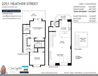 """Photo 38: 2251 HEATHER Street in Vancouver: Fairview VW Townhouse for sale in """"THE FOUNTAINS"""" (Vancouver West)  : MLS®# R2593764"""
