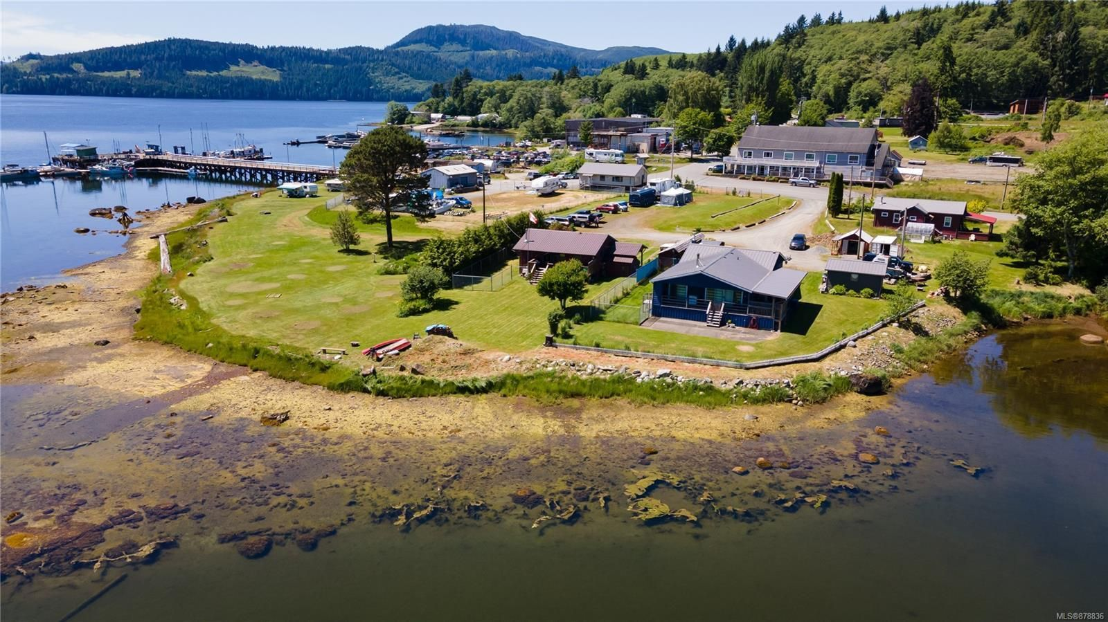 Main Photo: 340 Frank's Landing in Port Hardy: Coal Harbour House for sale (Port  Hardy)  : MLS®# 878836