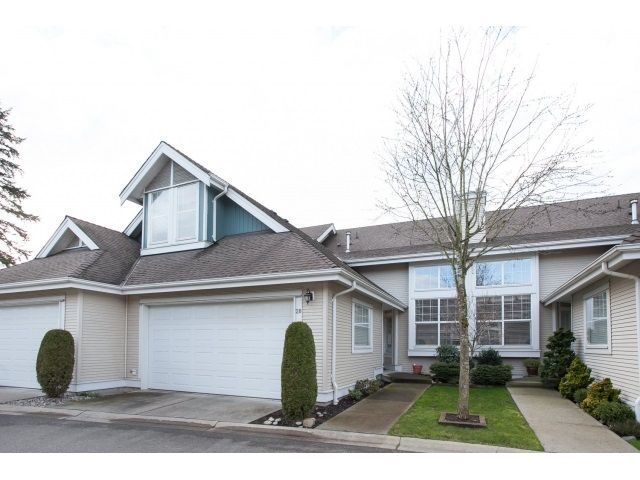 Main Photo: 20 16995 64 AVENUE in Surrey: Cloverdale BC Townhouse for sale (Cloverdale)  : MLS®# R2035324