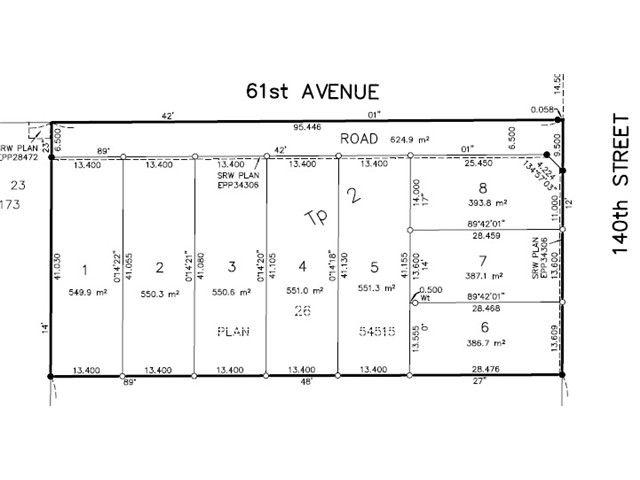 Main Photo: LT.5 6087 140 Street in Surrey: Sullivan Station Land for sale : MLS®# F1412157