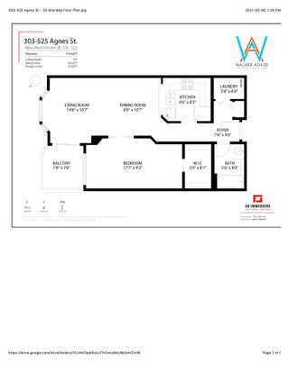 """Photo 23: 303 525 AGNES Street in New Westminster: Downtown NW Condo for sale in """"Agnes Terrace"""" : MLS®# R2589275"""