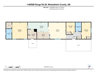 Photo 46: 1 465070 Rge Rd 20: Rural Wetaskiwin County Manufactured Home for sale : MLS®# E4239602