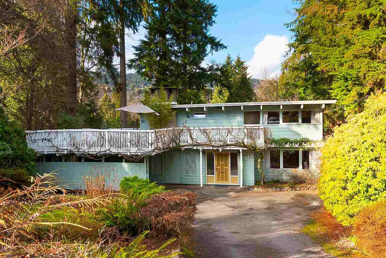 Main Photo: 819 BURLEY Drive in West Vancouver: Sentinel Hill House for sale : MLS®# R2546413