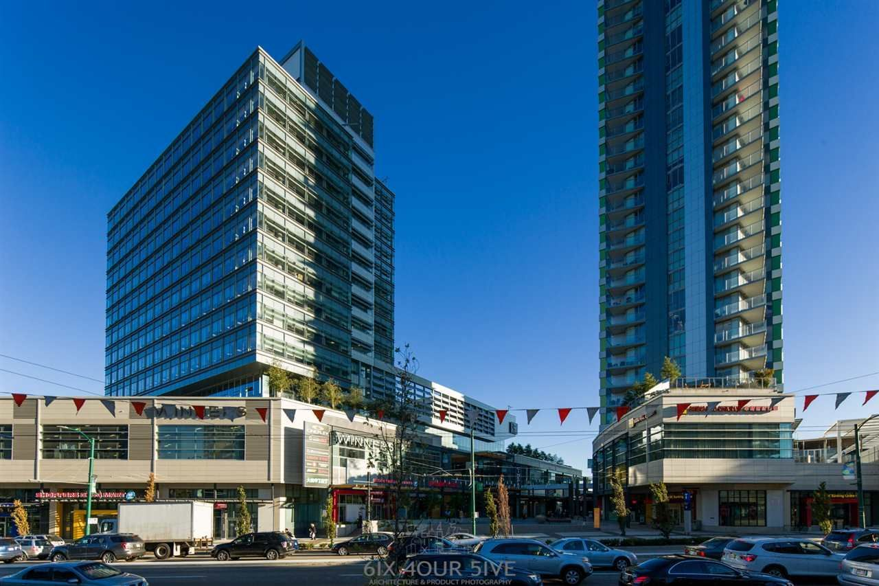 "Main Photo: 2704 488 SW MARINE Drive in Vancouver: Marpole Condo for sale in ""MARINE GATEWAY"" (Vancouver West)  : MLS®# R2211706"