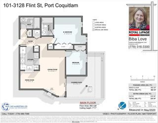 """Photo 23: 101 3128 FLINT Street in Port Coquitlam: Glenwood PQ Condo for sale in """"Fraser Court Terrace"""" : MLS®# R2582771"""