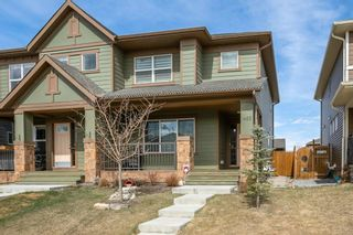Photo 1: 1485 Legacy Circle SE in Calgary: Legacy Semi Detached for sale : MLS®# A1091996