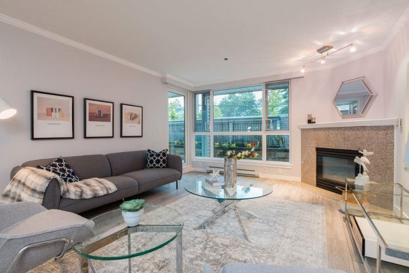 """Main Photo: 104 1318 W 6TH Avenue in Vancouver: Fairview VW Condo for sale in """"BIRCH GARDENS"""" (Vancouver West)  : MLS®# R2619874"""