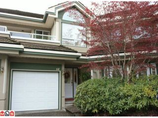 """Photo 1: 64 4001 OLD CLAYBURN Road in Abbotsford: Abbotsford East Townhouse for sale in """"Cedar Springs"""" : MLS®# F1009565"""