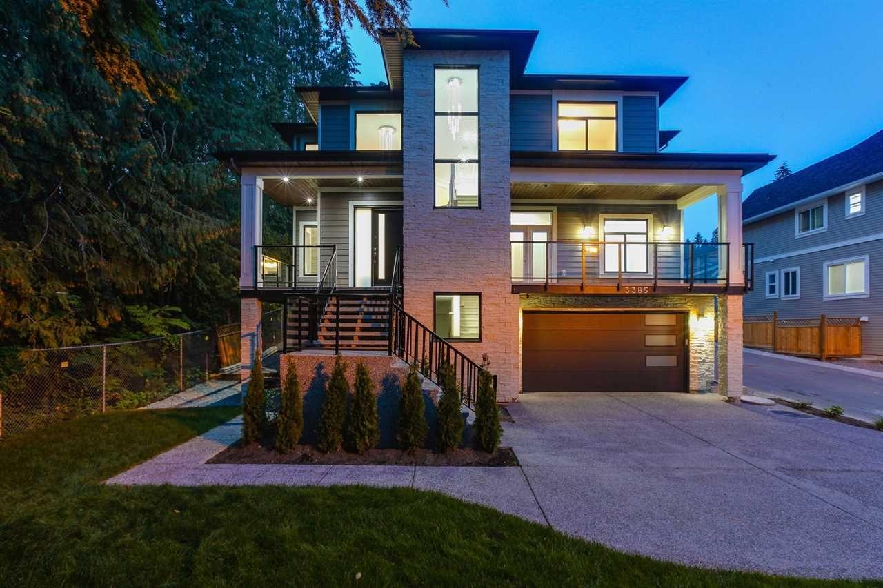 Main Photo: 3385 DARWIN Avenue in Coquitlam: Burke Mountain House for sale : MLS®# R2243385