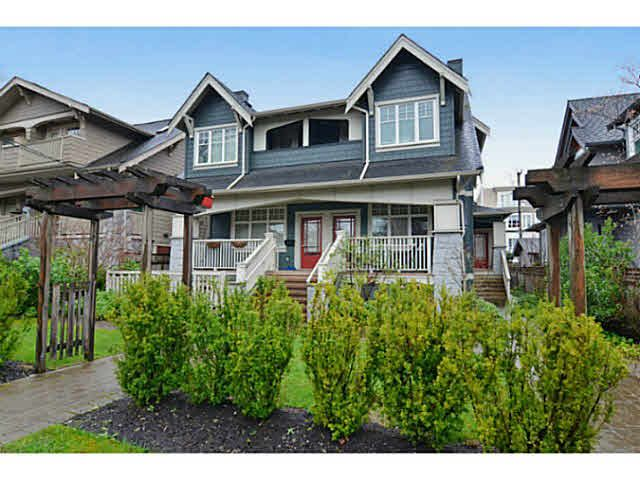 Main Photo: 2516 W 8TH AVENUE in : Kitsilano Townhouse for sale (Vancouver West)  : MLS®# V1112031