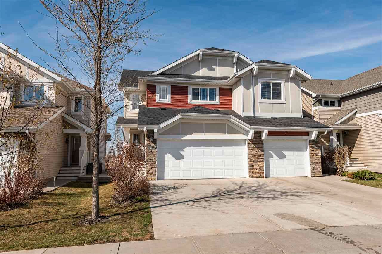Main Photo: 2395 Sparrow Crescent in Edmonton: Zone 59 House Half Duplex for sale : MLS®# E4241966
