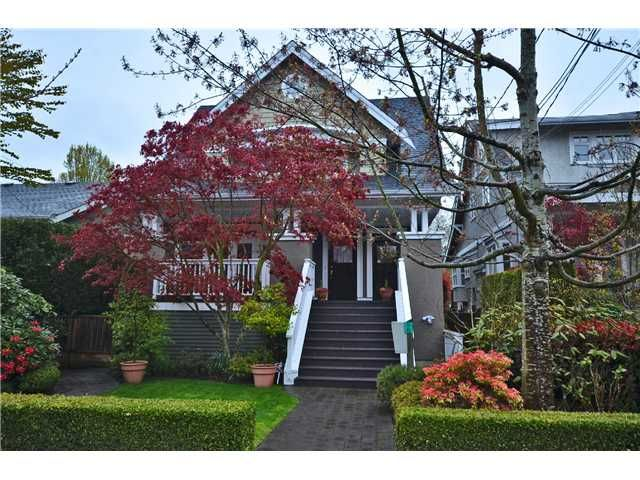 Photo 1: Photos: 2585 W 8TH Avenue in Vancouver: Kitsilano Townhouse for sale (Vancouver West)  : MLS®# V1002578