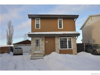 Photo 1: 115 Northcliffe Drive in WINNIPEG: Transcona Residential for sale (North East Winnipeg)  : MLS®# 1601835