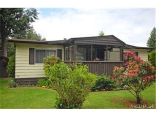 Photo 1:  in SOOKE: Sk Sooke River Manufactured Home for sale (Sooke)  : MLS®# 470543