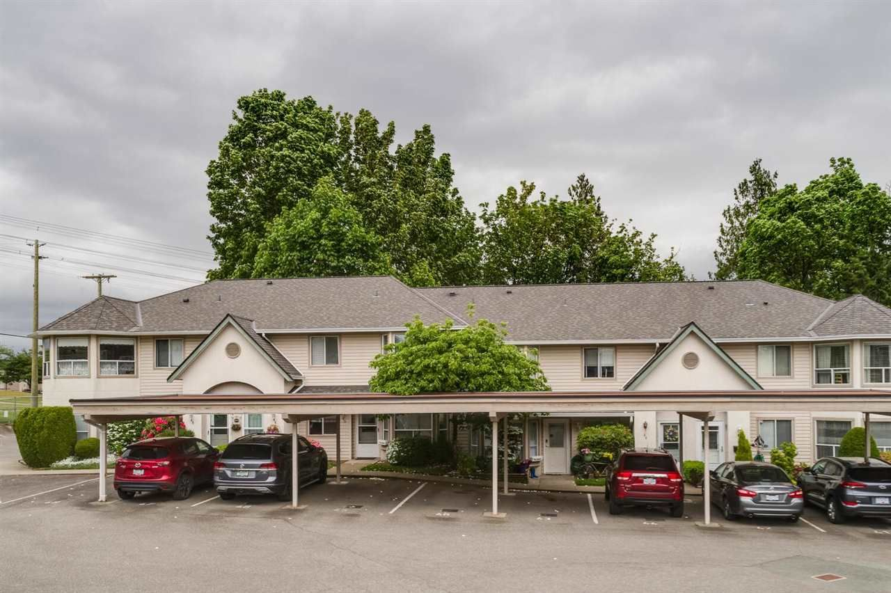 """Main Photo: 45 3380 GLADWIN Road in Abbotsford: Central Abbotsford Townhouse for sale in """"Forest Edge"""" : MLS®# R2581100"""