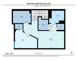 Photo 30: 18437 66 Avenue in Edmonton: Zone 20 Townhouse for sale : MLS®# E4257310