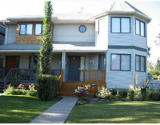 Main Photo: 1829 BROADVIEW Road NW in CALGARY: West Hillhurst Residential Attached for sale (Calgary)  : MLS®# C3305537