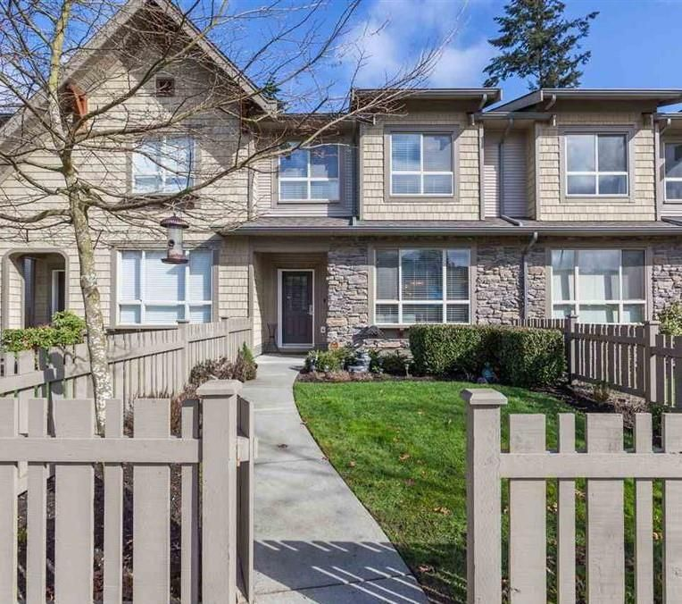 """Main Photo: 23 2738 158 Street in Surrey: Grandview Surrey Townhouse for sale in """"Cathedral Grove"""" (South Surrey White Rock)  : MLS®# R2541168"""