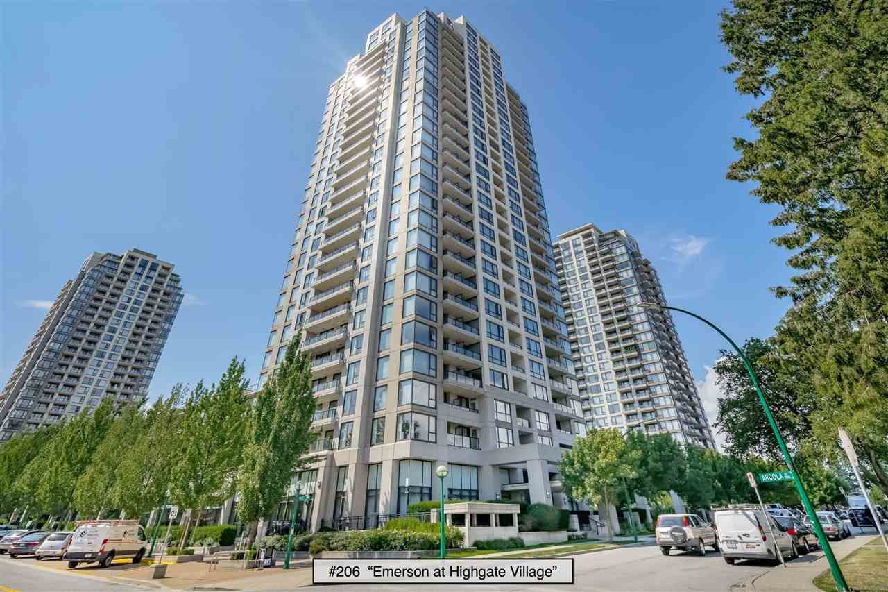 Main Photo: 206 7063 HALL AVENUE in Burnaby: Highgate Condo for sale (Burnaby South)  : MLS®# R2389520