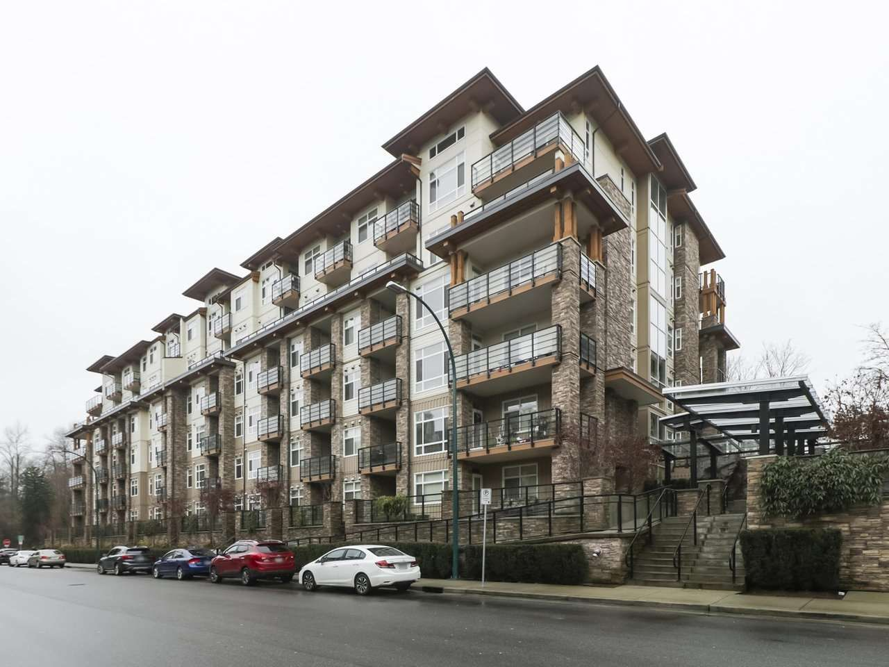 """Main Photo: 314 2495 WILSON Avenue in Port Coquitlam: Central Pt Coquitlam Condo for sale in """"ORCHID RIVERSIDE"""" : MLS®# R2425971"""