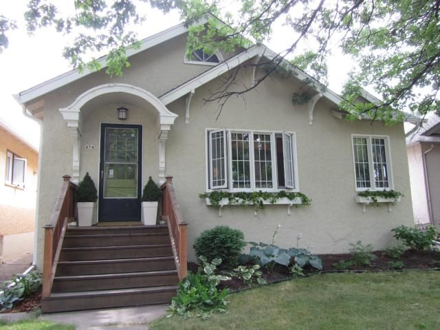 Main Photo: 474 Oxford Street in WINNIPEG: River Heights / Tuxedo / Linden Woods Residential for sale (South Winnipeg)  : MLS®# 1115256