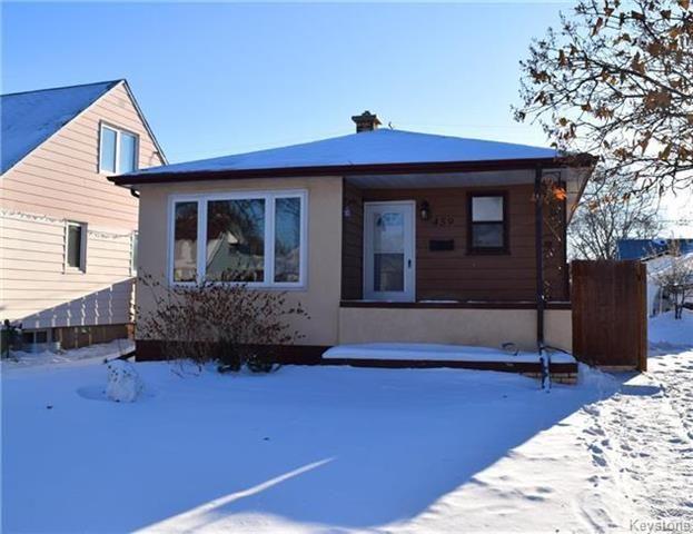 Main Photo: 459 Radford Street in Winnipeg: Sinclair Park Residential for sale (4C)  : MLS®# 1802598