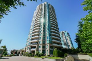 """Photo 1: 803 6659 SOUTHOAKS Crescent in Burnaby: Highgate Condo for sale in """"GEMINI II"""" (Burnaby South)  : MLS®# R2615753"""