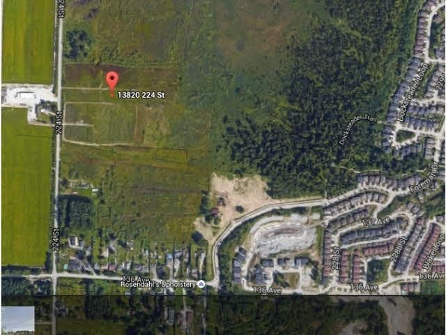Main Photo: 13820 224 Street in Maple Ridge: Silver Valley Land for sale : MLS®# R2576290
