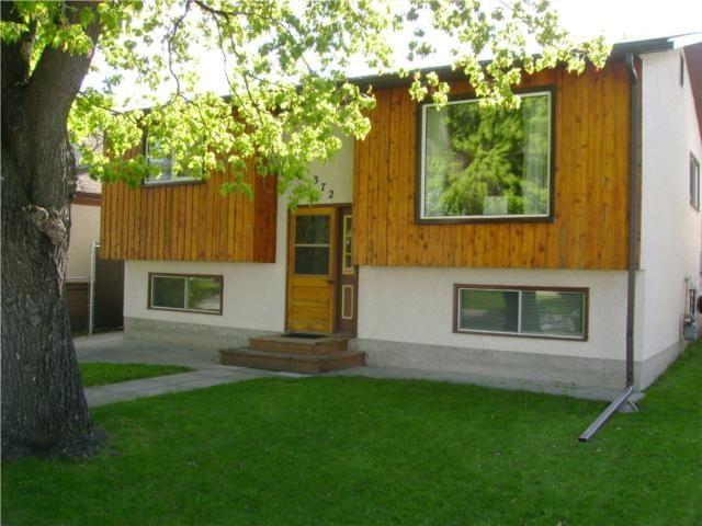 Main Photo: 372 Truro Street in WINNIPEG: St James Residential for sale (West Winnipeg)  : MLS®# 1008813