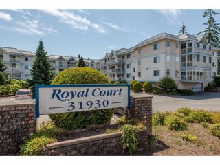 "Photo 1: 206 31930 OLD YALE Road in Abbotsford: Abbotsford West Condo for sale in ""ROYAL COURT"" : MLS®# R2381649"