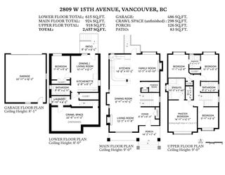 Photo 32: 2809 W 15TH Avenue in Vancouver: Kitsilano House for sale (Vancouver West)  : MLS®# R2597442