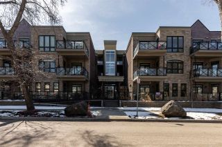 Photo 1: 414 10811 72 Avenue in Edmonton: Zone 15 Condo for sale : MLS®# E4239091