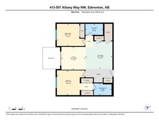 Photo 32: 413 507 ALBANY Way in Edmonton: Zone 27 Condo for sale : MLS®# E4264488