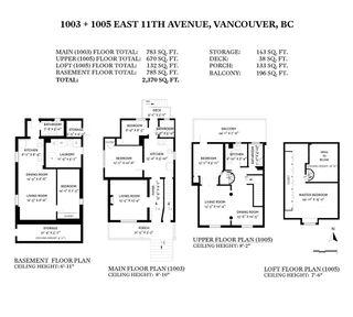 Photo 40: 1003 - 1005 E 11TH Avenue in Vancouver: Mount Pleasant VE Duplex for sale (Vancouver East)  : MLS®# R2533576