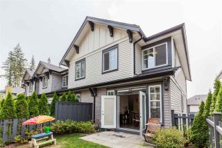 Main Photo: 18 3461 PRINCETON AVENUE in Coquitlam: Burke Mountain Townhouse for sale : MLS®# R2308148