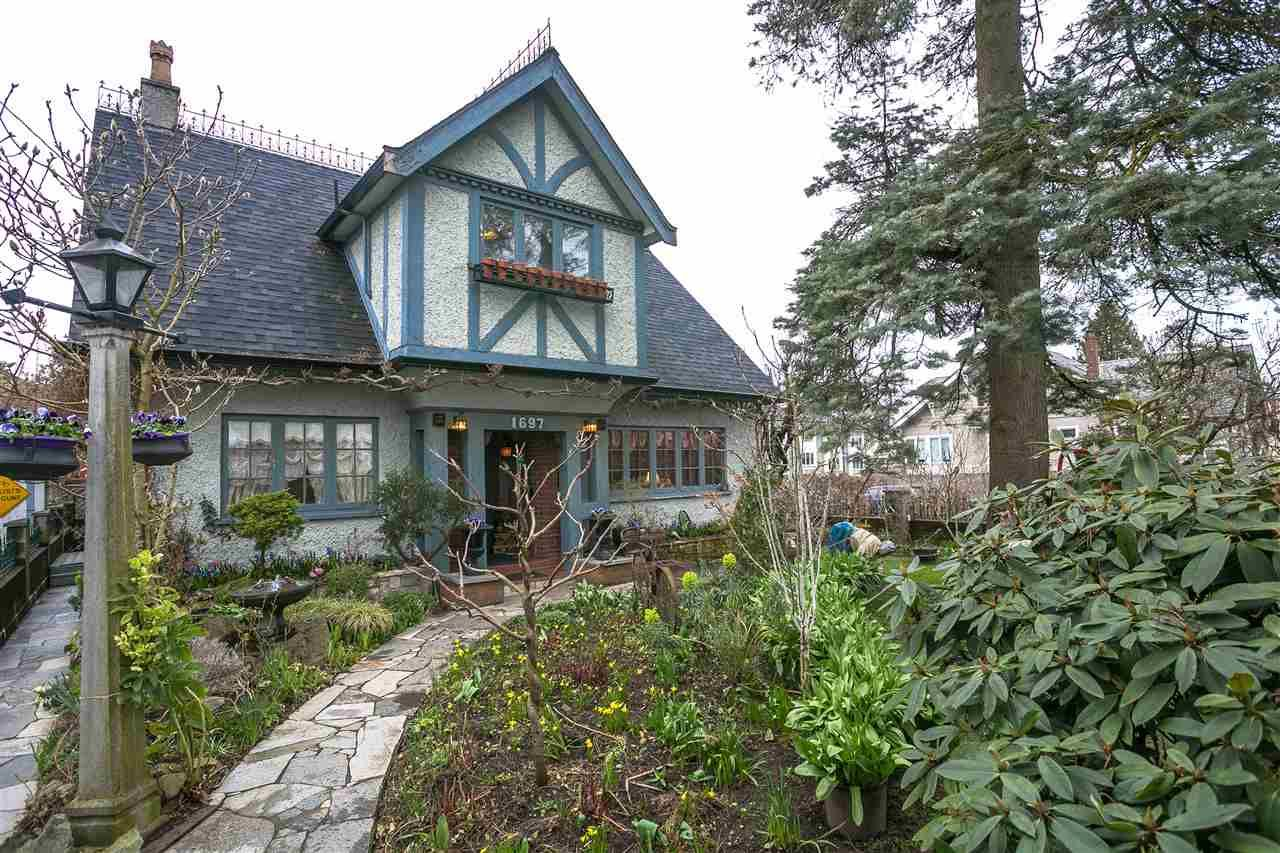 """Main Photo: 1697 E 22ND Avenue in Vancouver: Victoria VE House for sale in """"CEDAR COTTAGE"""" (Vancouver East)  : MLS®# R2150016"""