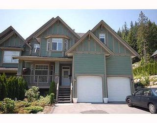 Photo 1: 2917 FERN Drive: Anmore 1/2 Duplex for sale (Port Moody)  : MLS®# V772350