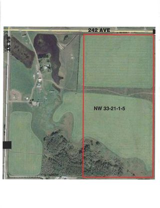 Photo 1: 48155 W 242 Ave.: Rural Foothills County Land for sale : MLS®# C4293433