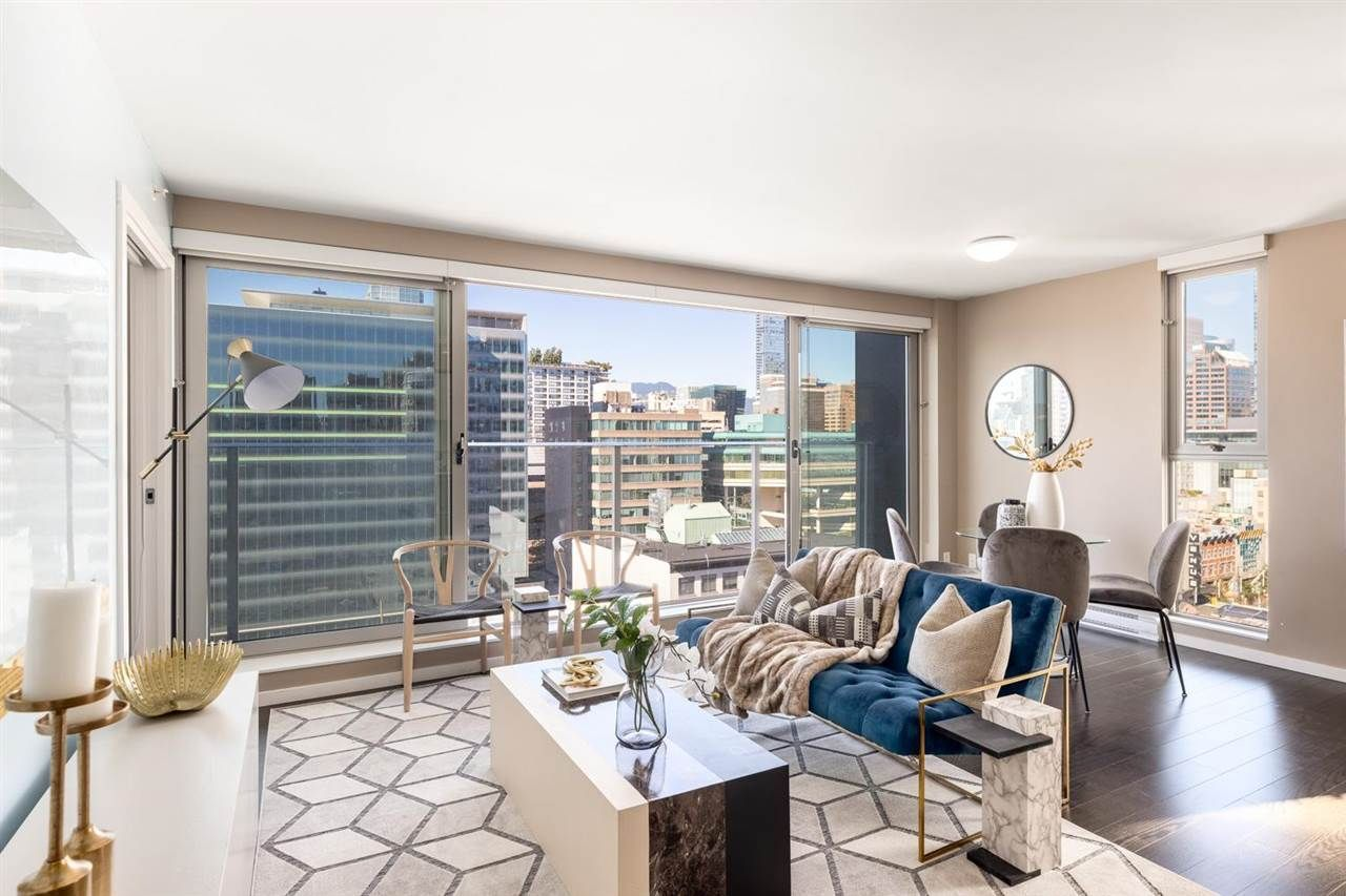 Main Photo: 1808 999 SEYMOUR Street in Vancouver: Downtown VW Condo for sale (Vancouver West)  : MLS®# R2589805